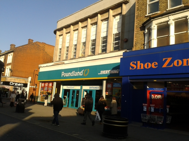 East Ham Poundland