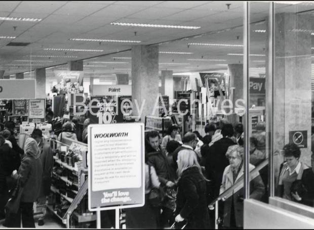 Bexleyheath Woolworths New Store Opening 1981