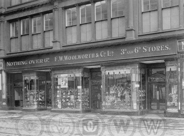 Glasgow Union Street Woolworths 1921