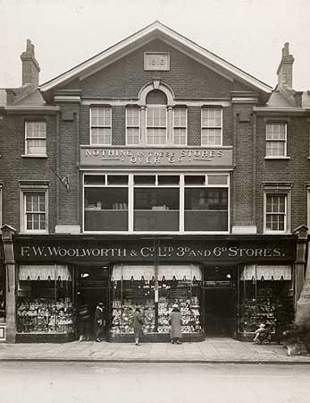 Ealing Broadway Woolworths 1930
