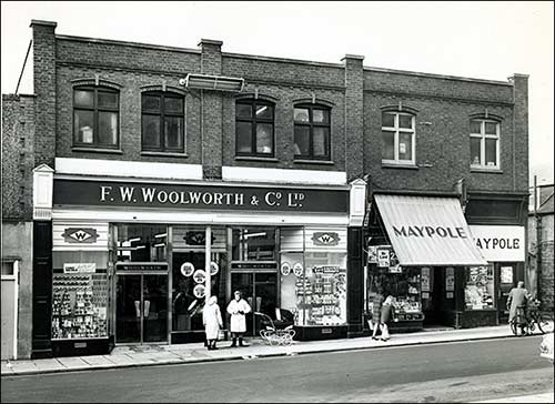 Rushden Woolworths 1960s