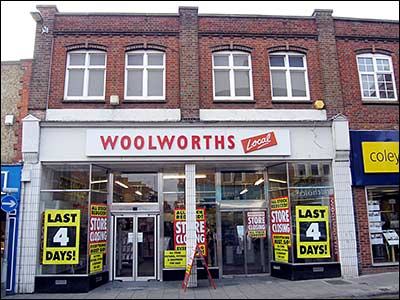 Rushden Woolworths 2008